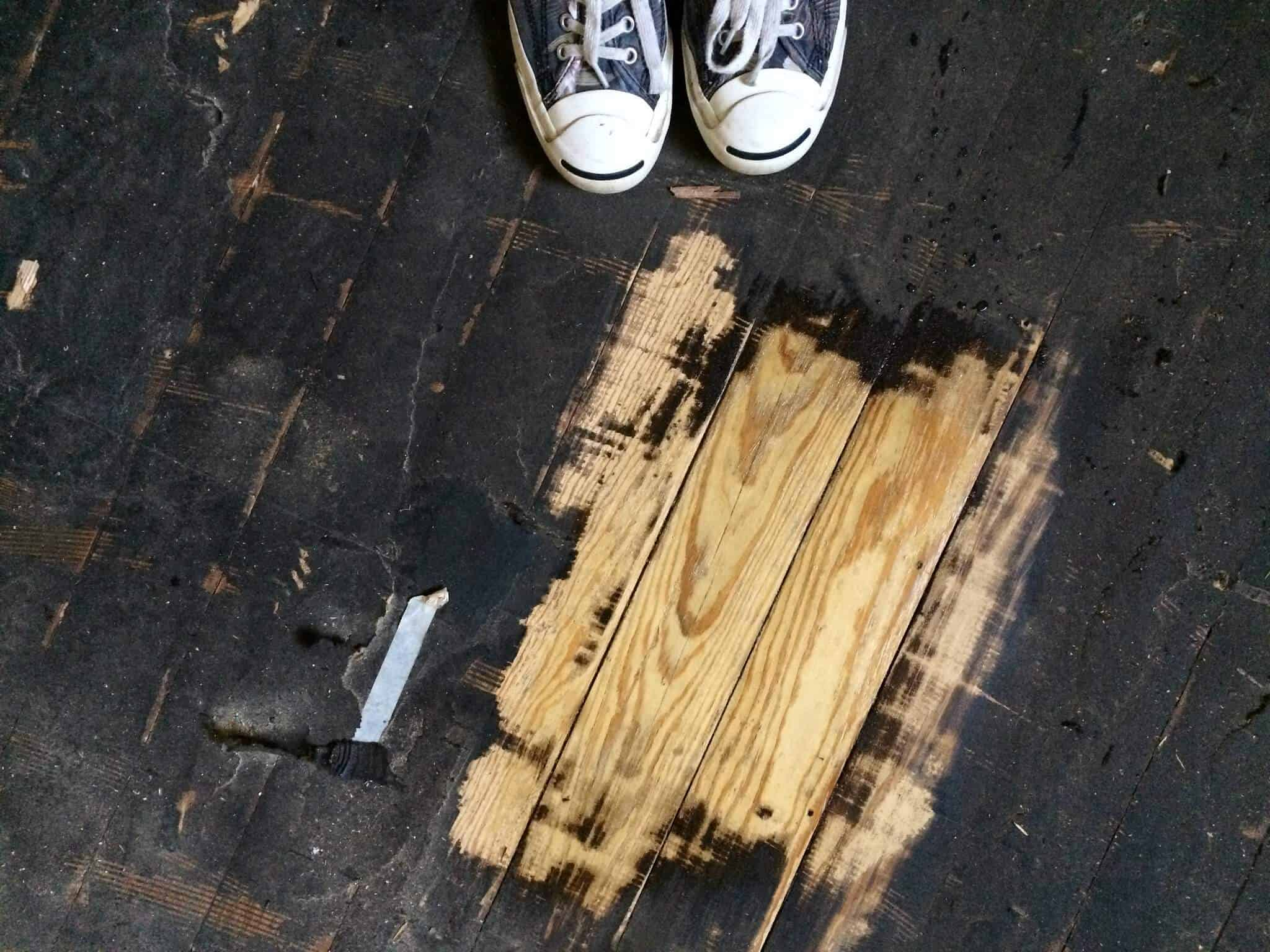 How To Remove Tar Paper From Wood 7