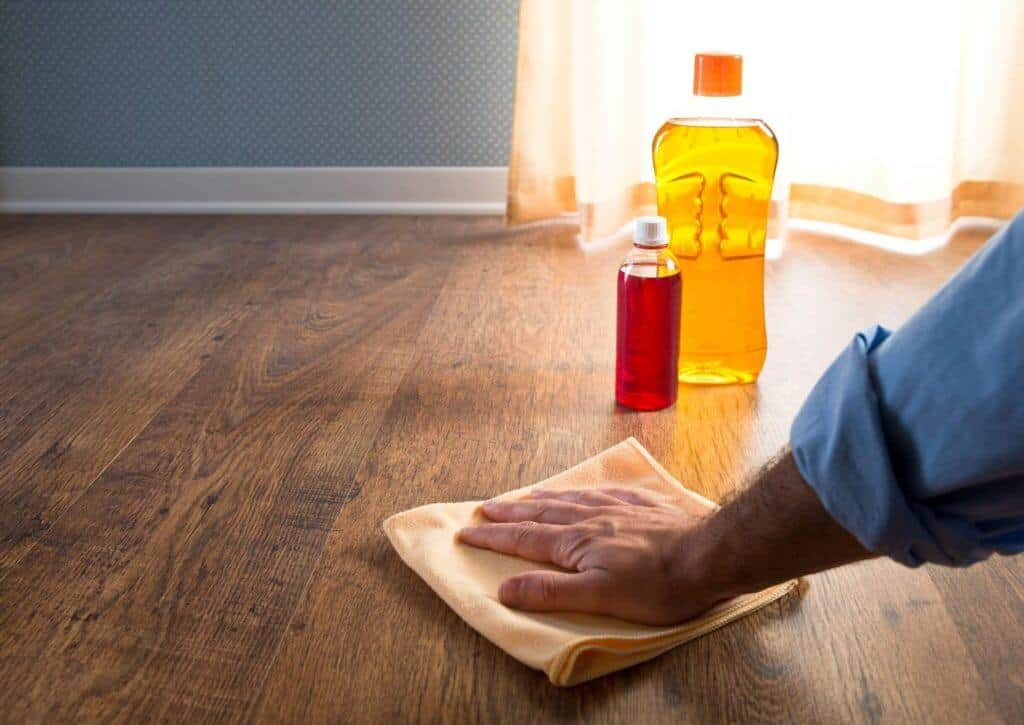 How to clean unsealed hardwood floors