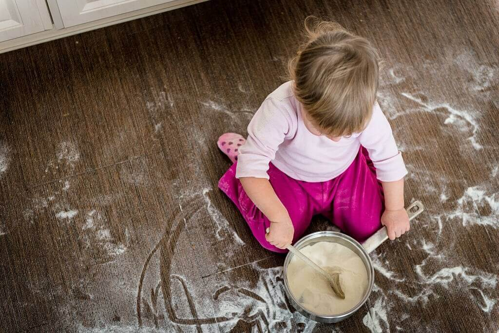 How To Clean Sticky Wood Floors