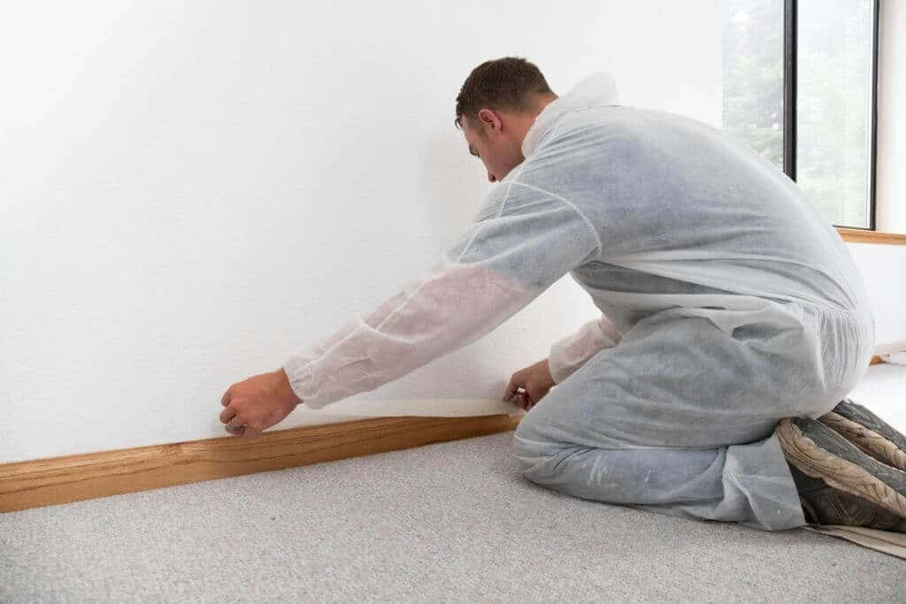 How to Install Baseboard Molding on Uneven Floor