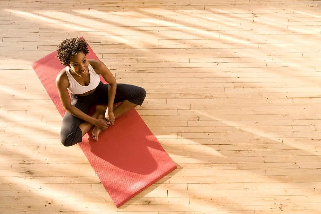 How to Stop Yoga Mat From Sliding on Floor