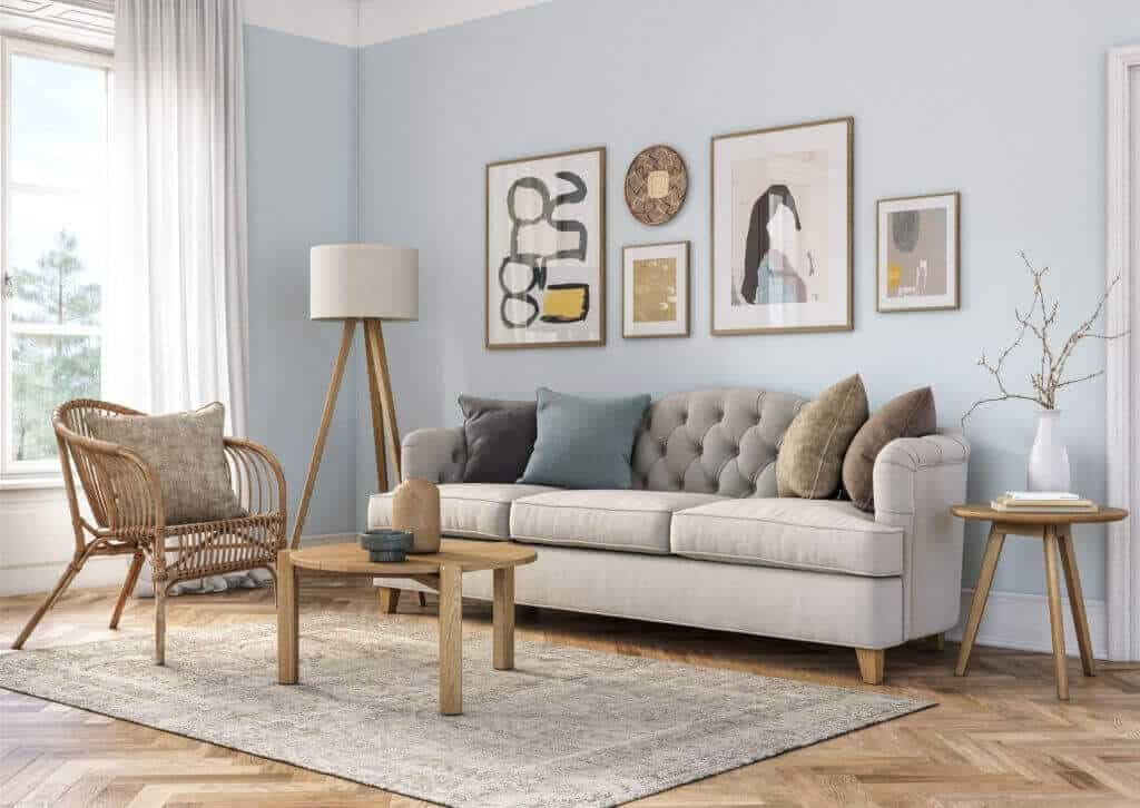 How to Tackle Heavy Furniture on Vinyl Plank Flooring