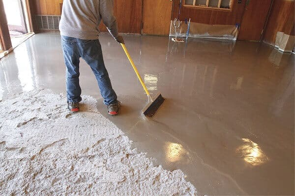 How Thick Can a Floor Leveler be Poured