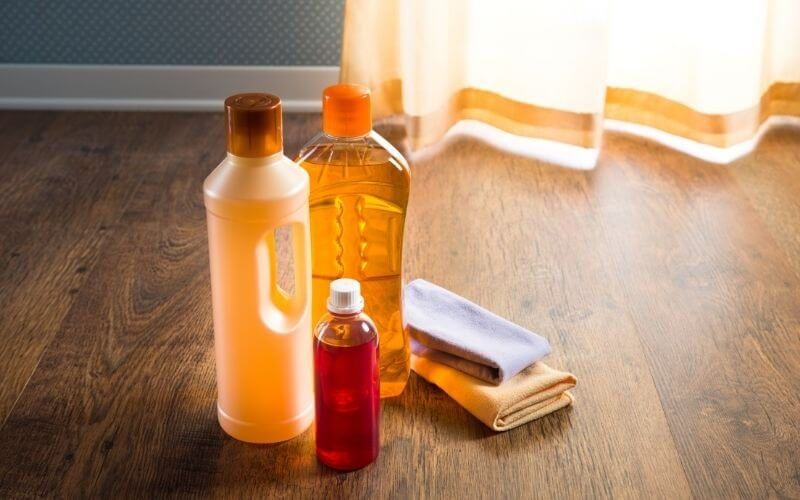 homemade hardwood floor cleaner with olive oil