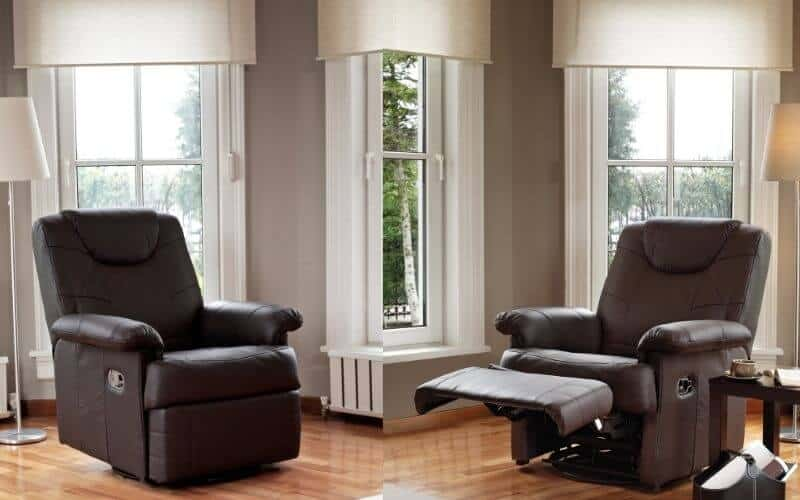 how to keep recliner from sliding on wood floor