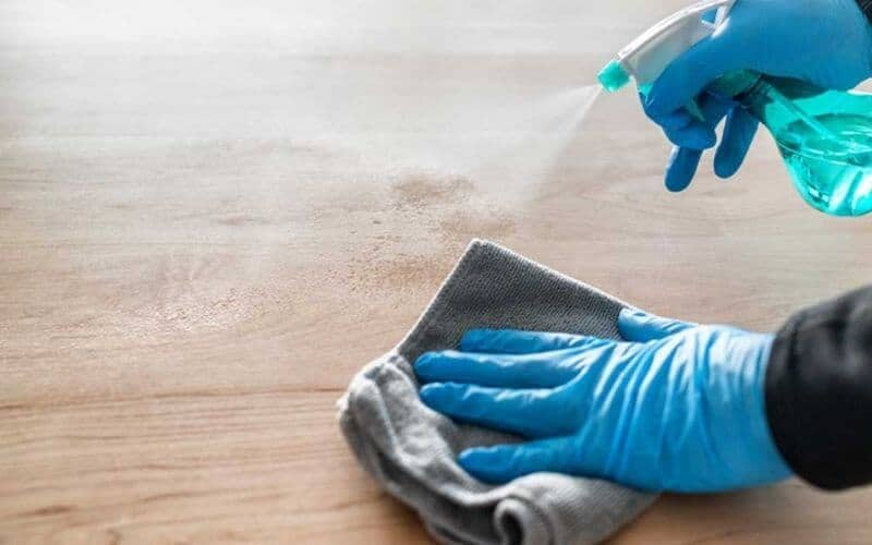how to remove black urine stains from hardwood floors