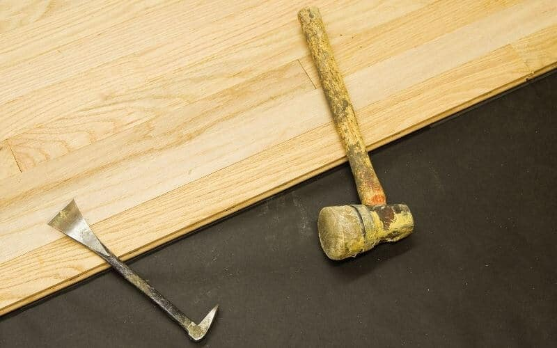 how to remove tongue and groove flooring