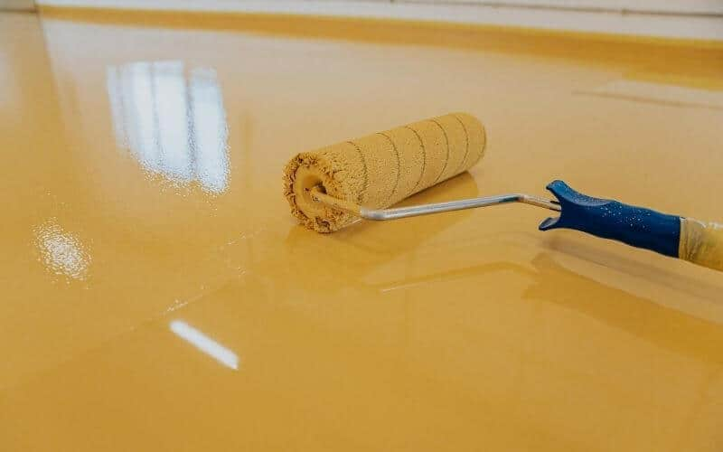 painting tile floors with epoxy