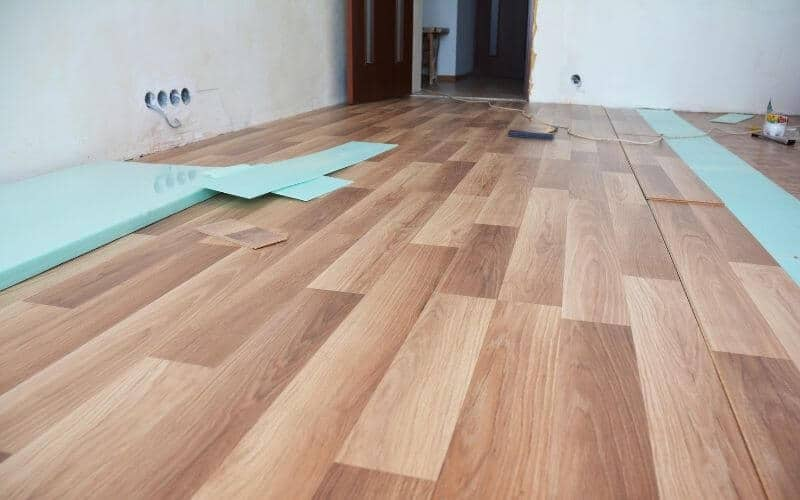 stained laminate flooring