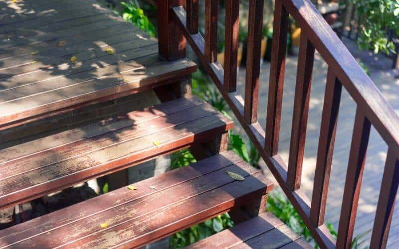 stair case outside