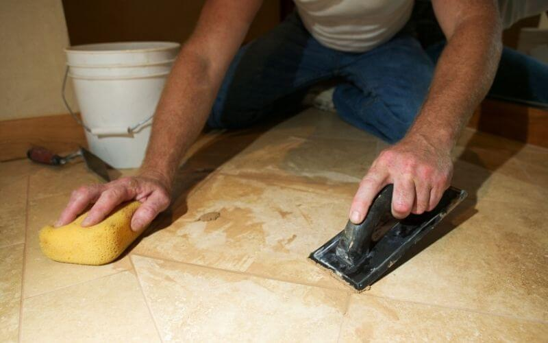how to remove glue from concrete floor after removing linoleum