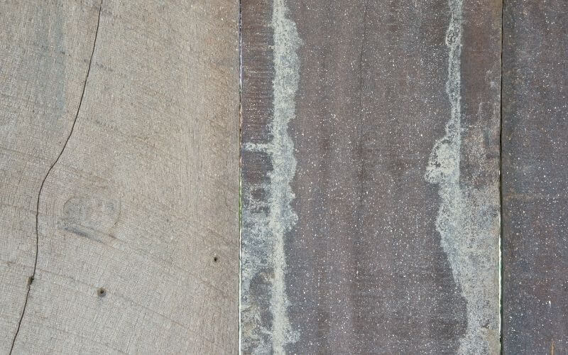 how to clean old hardwood floors after removing carpet