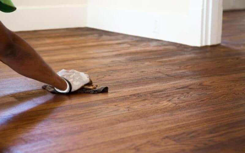 how to get rid of lap marks on hardwood floors