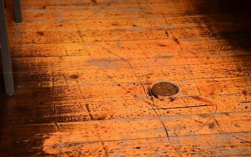 how to get rid of scuff marks on hardwood floors