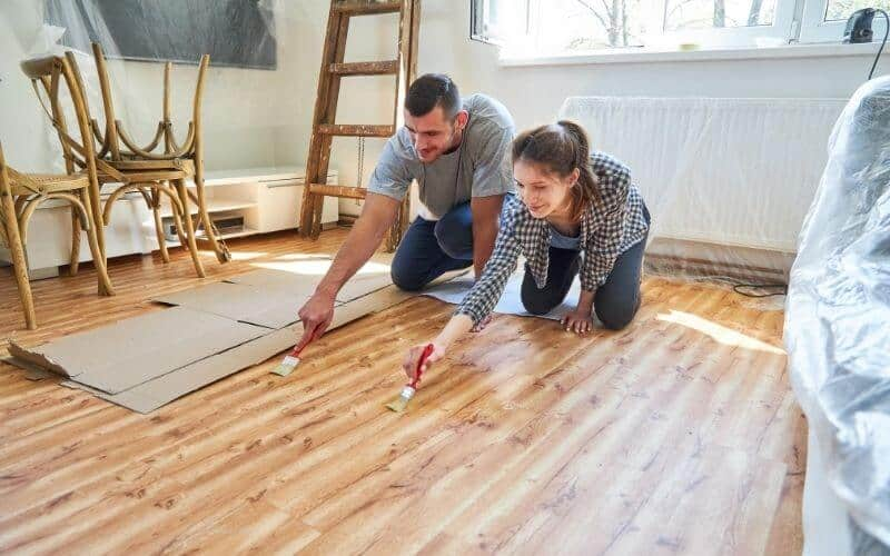 how to seal hardwood floors without sanding