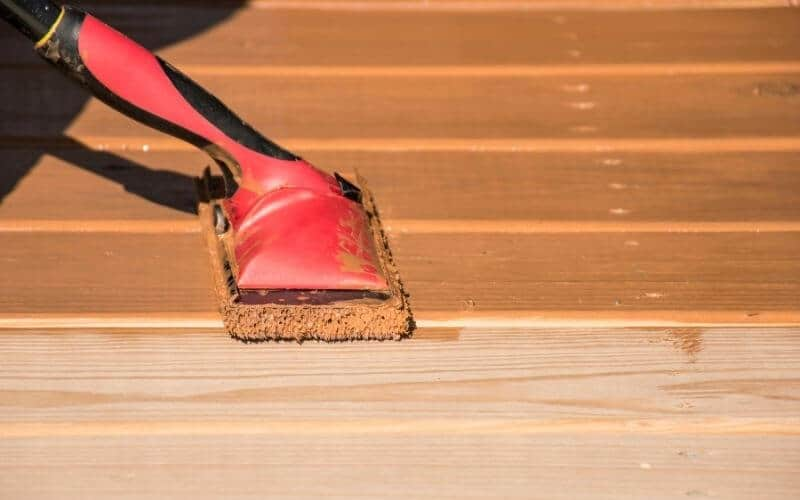 how to seal unfinished wood floor