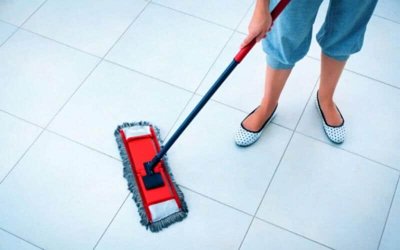 cleaning floors with hydrogen peroxide
