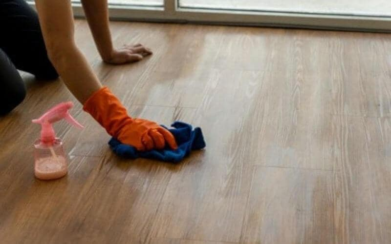 removing surface scratches from hardwood floors